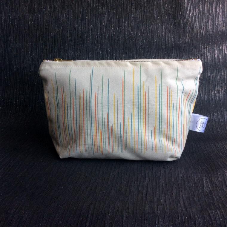 Colourful Graph Make Up Bag